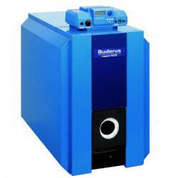 117,000 BTU Output Logano G215-3 Cast Iron Oil Boiler w/ Burner Product Image