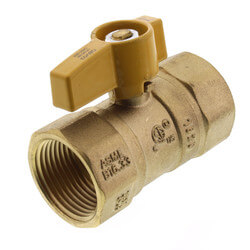 """1"""" Gas Ball Valve Product Image"""