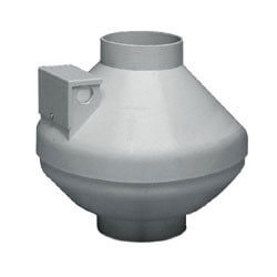 """ILF120 Remote Mount<br>In-Line Vent Fan, 4"""" Diam. Duct Size (110 CFM) Product Image"""