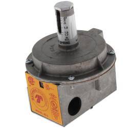"""JD-2 Air Pressure Switch, .07 to 1.7"""" W.C. (Blue) Product Image"""