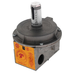 """JD-2 Vacuum/Pressure Switch w/ Auto Reset Air Differential, 1-4"""" W.C. (Grey) Product Image"""