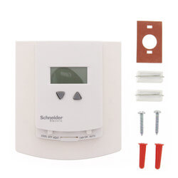 24v Heating/Cooling Digital Thermostat w/ Fan Control (50-86F) Product Image