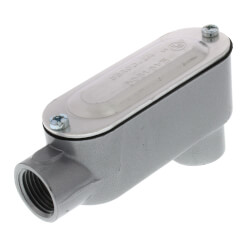 """1/2"""" LB Conduit Body with Cover and Gasket Product Image"""