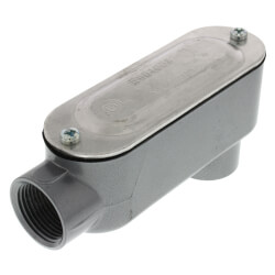 """3/4"""" LB Conduit Body with Cover and Gasket Product Image"""