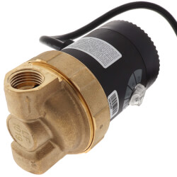 """E1-BCTVNNNW-01 E Series, Circulating Pump w/ Adjustable Speed and Plug (1/2"""" FPT) Product Image"""