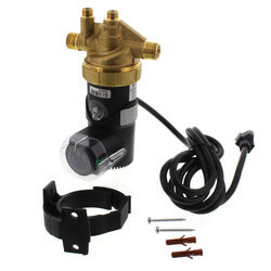 """Autocirc Circulator w/ Adjustable """"ON"""" Thermostat & Timer, Lead Free Brass (1/2"""" NPT) Product Image"""
