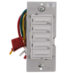 Decora 5-10-15-30 Minute Electronic Timer Switch - White, Ivory, Almond (120V) Product Image