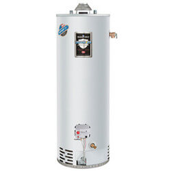"""30 Gal. Defender Safety System Atmos. Vent Heater, 48"""" Height (NG) Product Image"""