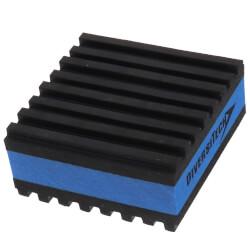 """E.V.A. Anti-Vibration Pad 2"""" x 2"""" x 7/8"""" Product Image"""