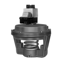 """5"""" Pneumatic Valve Actuator w/ Positioner<br>4 psi to 11 psi, 10 psi range Product Image"""