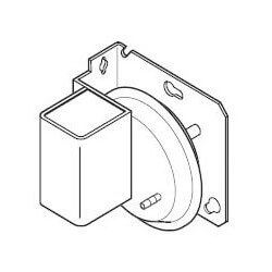 """-.5 to .5"""" Differential<br>Pressure Switch<br>w/ Floating SPDT Product Image"""