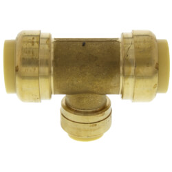 """3/4"""" x 3/4"""" x 1/2"""" Push Fit Reducing Tee (Lead Free) Product Image"""