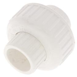 "3/4"" PVC Sch. 40<br>Socket Union<br>w/ Buna O-ring Product Image"