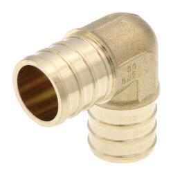 "3/4"" PEX DZR Brass 90 Elbow (Lead Free) Product Image"