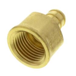"1/2"" PEX x 1/2"" NPT DZR Brass Female Adapter (Lead Free) Product Image"