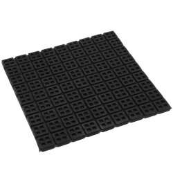 """Super W Natural Rubber Vibration Isolation Pad <br>(18"""" x 18"""" x 3/4"""") Product Image"""
