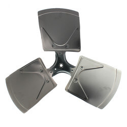 """22"""" Aluminum 3<br>Blade Fixed Hub<br>Fan Blade (27° Pitch) Product Image"""