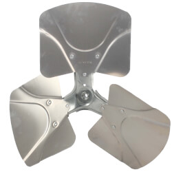 """22"""" Aluminum 3<br>Blade Fixed Hub<br>Fan Blade (28° Pitch) Product Image"""