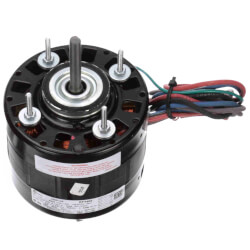 """5"""" GE 21/29 Frame Motor (115/208-230V, 1550 PM, 1/10 HP) Product Image"""