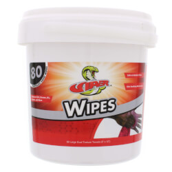 """9"""" x 12"""" Viper Wipes (80 per Pack) Product Image"""