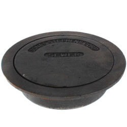 """8"""" Sewer Box Sewer Lid and Ring Product Image"""