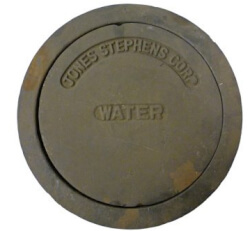 """10"""" Sewer Box Water Lid and Ring Product Image"""
