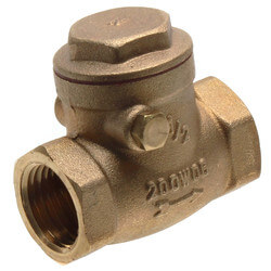 """1/2"""" Threaded Swing Check Valve, Lead Free Product Image"""