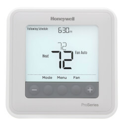 T6 Pro Programmable Thermostat, 3H/2C Heat Pump, 2H/2C Conventional Product Image