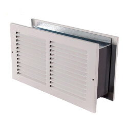 """14"""" X 6"""" RAPR Wall Return Air Pathway for Existing Construction Product Image"""