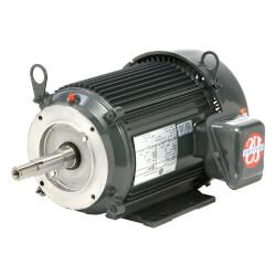3-Phase Close Coupled Pump Motor, 184JM (208-230/460V, 5 HP) Product Image