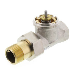 """3/4"""" Straight Valve for High Capacity Radiator Product Image"""