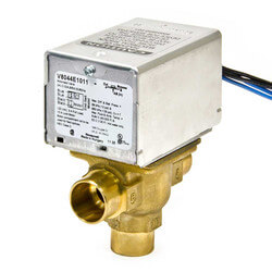 """3/4"""" Sweat 3-Way<br>Zone Valve, port A N/C<br>w/ end switch (24V) Product Image"""