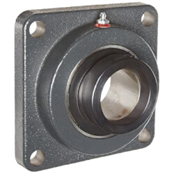 """1-7/16"""" Normal Duty<br>4-Bolt Flange Bearing<br>w/ Eccentric Lock Product Image"""