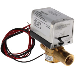 """3/4"""" Inverted Flare 2-Way Zone Valve w/ End Switch 3.5 CV (24V) Product Image"""
