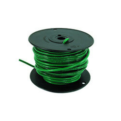 Spool of Stranded Copper Wire, 10 GA (Black, 100 ft) Product Image