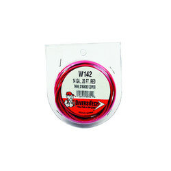 Stranded Copper Wire<br>14 GA (Red, 20 ft) Product Image