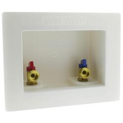 "1/2"" PEX Crimp Washing Machine Outlet Box  Product Image"