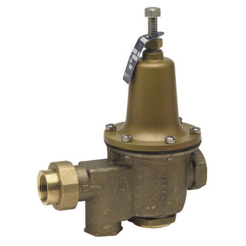 """1/2"""" LFU5B-Z3 Pressure Reducing Valve with Bypass Check Valve, Lead Free Product Image"""