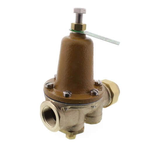 """3/4"""" LF25AUB-G-Z3 Pressure Reducing Valve (Threaded F Union Inlet x NPT Threaded F Outlet) Product Image"""