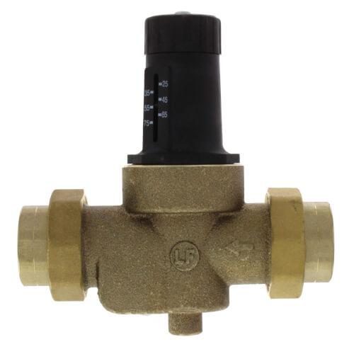 "1"" LFN45BM1-DU-EZ Water Pressure Reducing Valve with Adjustable Pressure Setting, Lead Free Product Image"