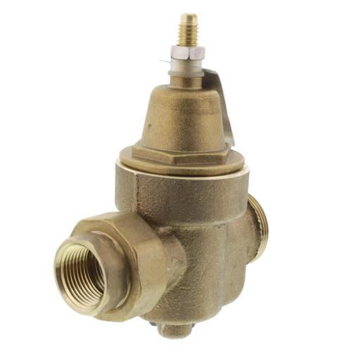 "3/4"" LFN55BM1-U NPT Union x FNPT Water Pressure Reducing Valve (Lead Free) Product Image"