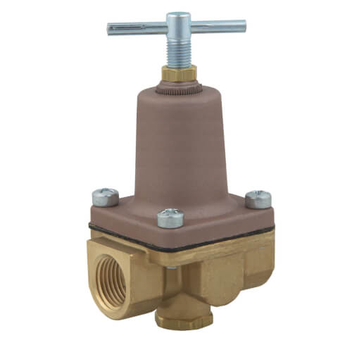 """1/2"""" x 1/4"""" LF263A 3-Way Small Water Pressure Regulator, Lead Free (3-50 PSI) Product Image"""