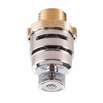 ZN- RES Flush Pendent Sprinkler (SS4421) 4.2K, 162°F - Chrome - Head Only Product Image