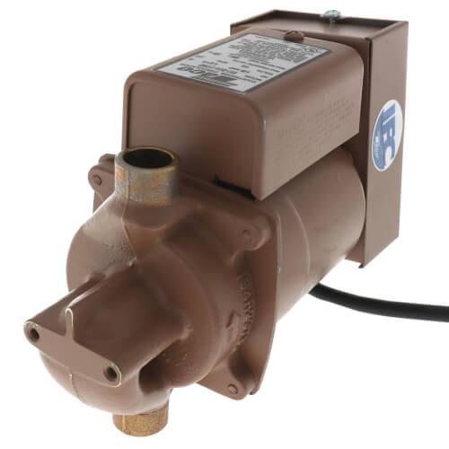 "003 Plumb n' Plug Pump w/ Digital Timer & Integral Flow Check, 1/40 HP (1/2"" Sweat) Product Image"