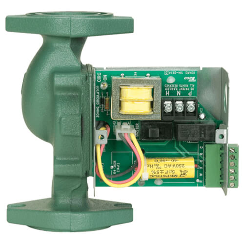 """003 Bronze Priority Zoning Circulator w/ Integral Flow Check, 1/40 HP, 3/4"""" Sweat Product Image"""