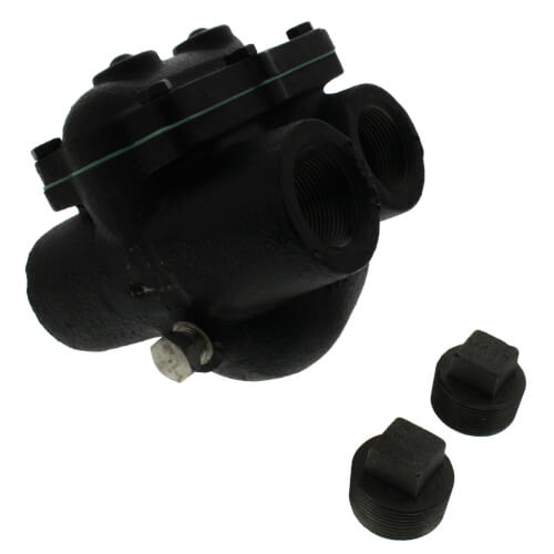"""WFT-15, 1-1/4"""" Float & Thermostatic Steam Trap Product Image"""