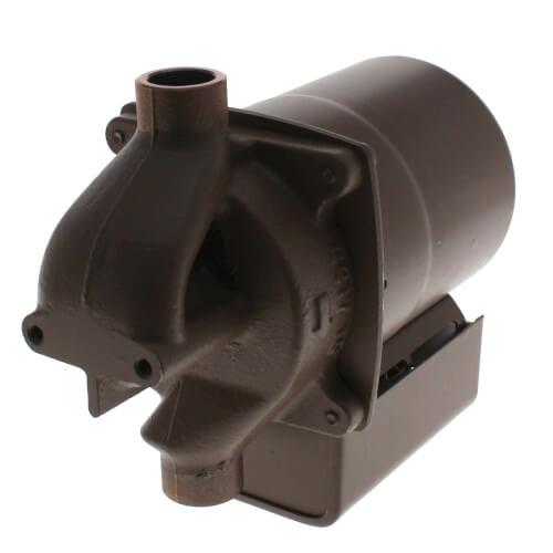 "006 (1/2"" Sweat) Taco Bronze Circulator w/ Integral Flow Check, 1/40 HP Product Image"