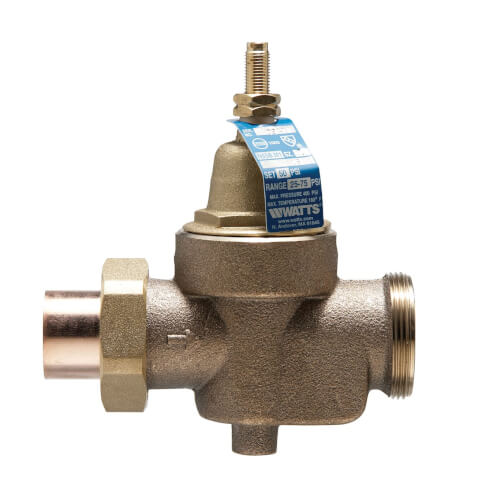 "3/4"" LFN55BM1-U Solder x FNPT Water Pressure Reducing Valve (Lead Free) Product Image"
