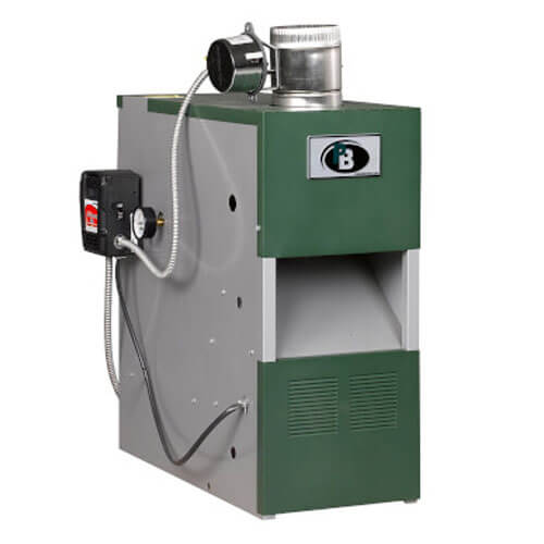 MI-03-e - 50,000 BTU Output Intermittent Ignition Packaged Residential Water Boiler (Nat Gas) Product Image