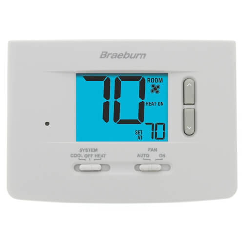 """Non-Programmable 1H/1C Thermostat w/ 3"""" Display Product Image"""